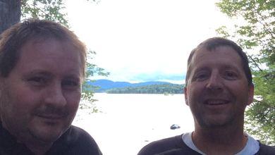Photo of Hydro and Rkymtnman at the Great Sacandaga Lake