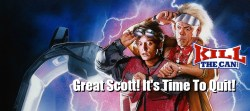 Great Scott - It's Time To Quit