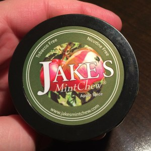 Jake's Mint Chew Apple Spice Can