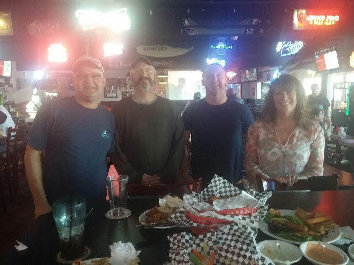 Scoot66, Zeno, AirForceAddict &ChickDip at The Loose Wheel