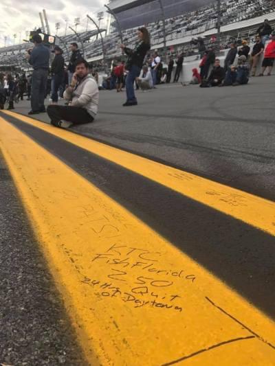FISHFLORIDA - Daytona Speedway