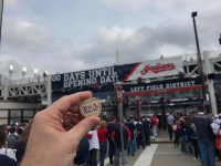 Chewie - Cleveland Home Opener 2017