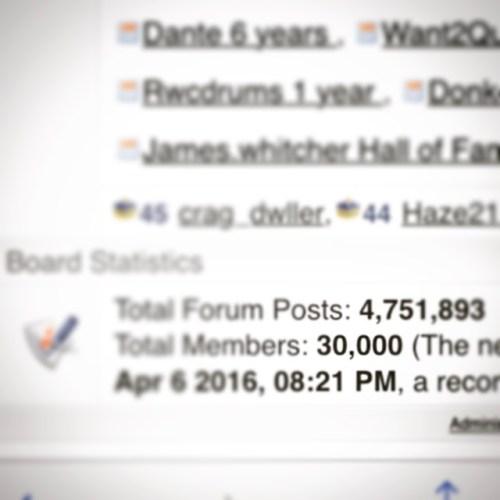 30000 Registered Members