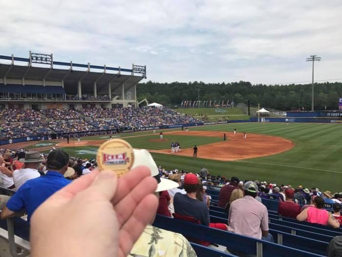 Weedsta at the SEC Baseball Championship