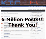 5 Million Posts Thank You