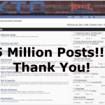 5 Million Forum Posts!