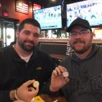 Law1358 and Broccoli-saurus at BW3