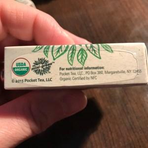 Mini-Green Energy Pouches - USDA