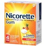 Nicorette Nicotine Gum
