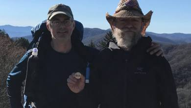 Photo of TabRow3 and Roy at Newfound Gap