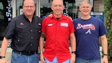 Photo of Tonifer, Roy, and TabRow3 – Pizza Meet in Augusta