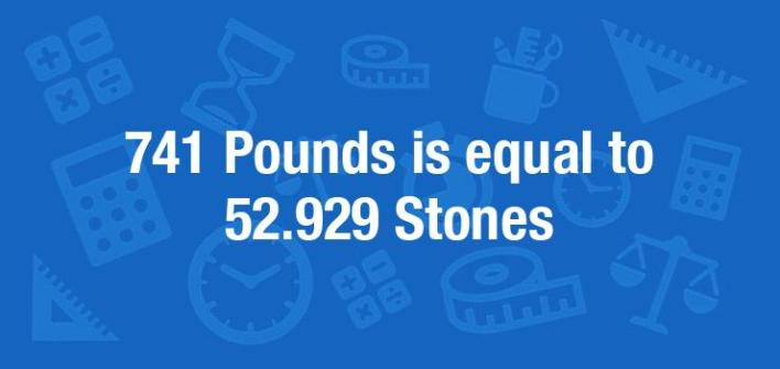 741 Pounds