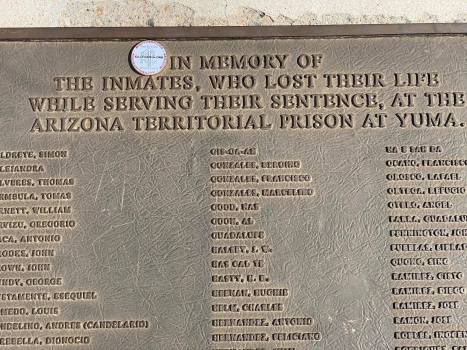 JC Clifford is at Yuma Territorial Prison State Historic Park - 2.22.2020 (1)