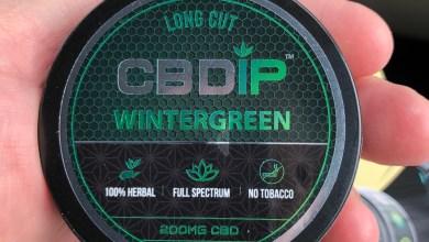 CBD Dip - Wintergreen