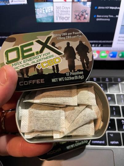 OE.X ENERGY + CBD Product