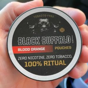Black Buffalo Zero Nicotine Blood Orange Feature