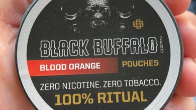 Black Buffalo Zero Nicotine Blood Orange Feature