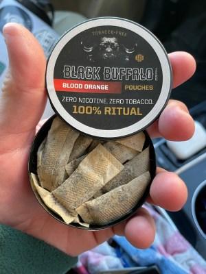 Black Buffalo Zero Nicotine Blood Orange Product