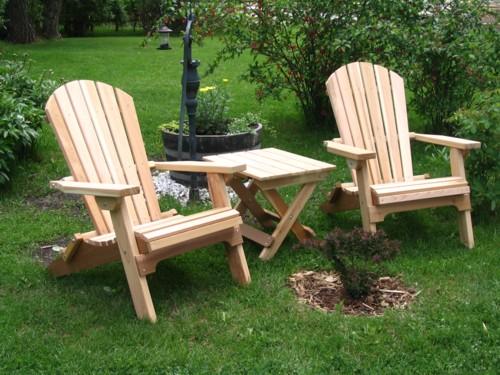 folding lawn chairs ontario plaid upholstered adirondack apairadiron jpg