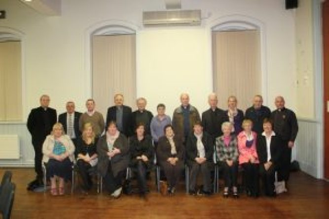 Members of the Diocesan Pastoral Council 2011-16