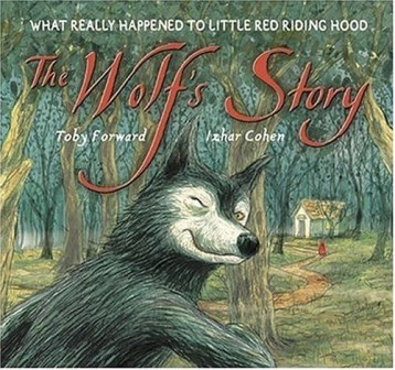 The Wolf's story bookcover