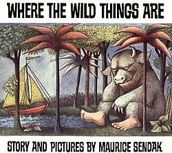 Where the wild things are bookover