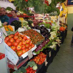 in Cagliari in der Markthalle