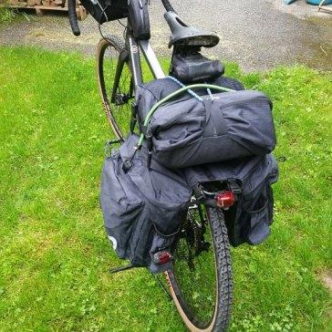 Roswheel-Taschen beim Tuscany-Trail