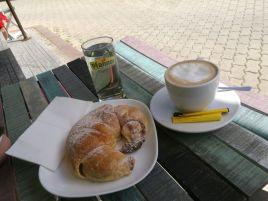 ein kleines Frühstück...