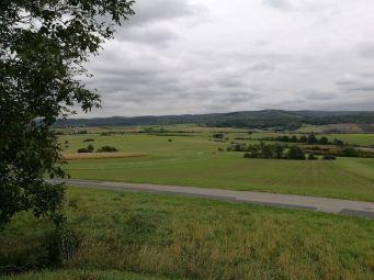 Blick vom Koglberg Richtung Teichwiesen