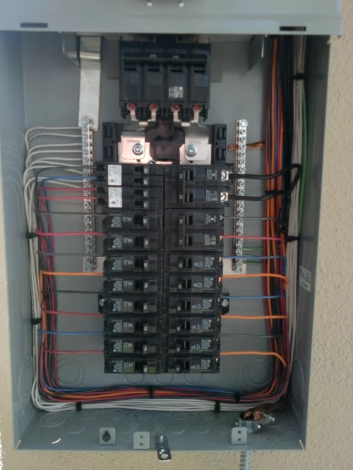 small resolution of house electrical panel wiring diagram