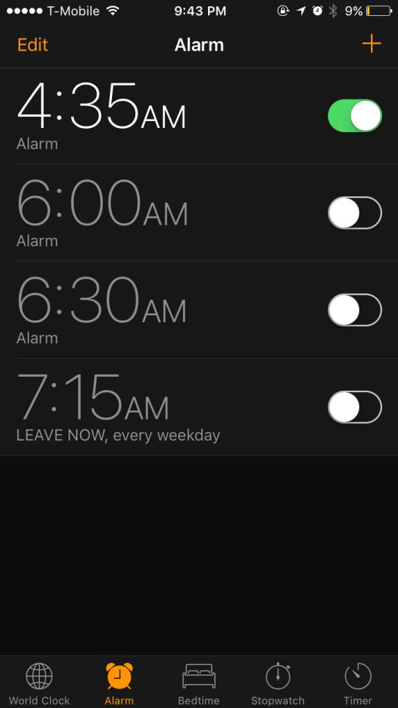 430 wake up call