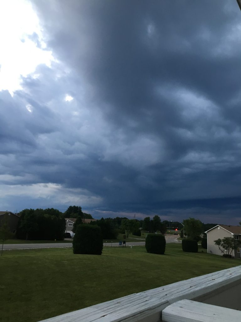 storms brewing