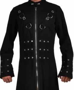 Goth Punk Industrial Vampire Jacket, Gothic Jackets, Jackets for Men, Best Gothic Jacks