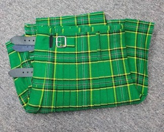 Irish Green Economy Kilt 47W 18L