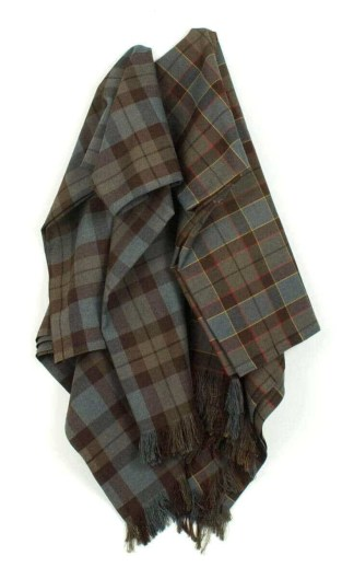 OUTLANDER Blanket Poly/Viscose Tartan