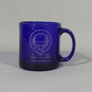 Buchanan Clan Crest Engraved Coffee Mug