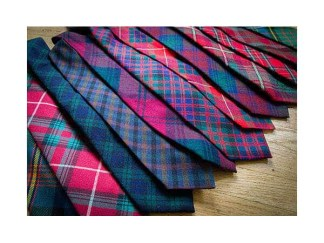 Tartan Neck Ties, Spring Weight