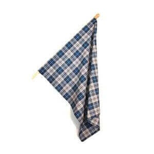 Homespun Wool Blend Tartan Flags