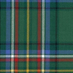 Medium Weight Premium Wool Irish Tartans