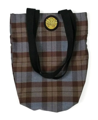 OUTLANDER Tote Bag Premium Wool Tartan