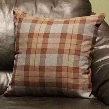 OUTLANDER Throw Pillow Cover Authentic Premium Wool Tartan