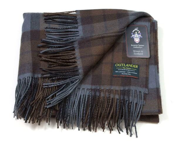 OUTLANDER Wrap Premium Lambswool Tartan
