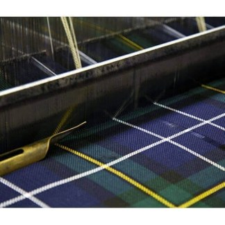 Medium Weight Poly Viscose Tartan