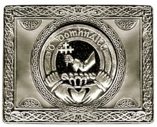 Irish Family Crest Kilt Belt Buckle