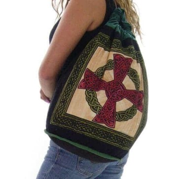 Celtic Cross Backpack Totes