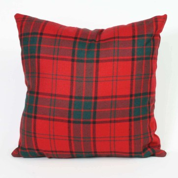 Tartan Throw Pillow (Heavy Weight List G)