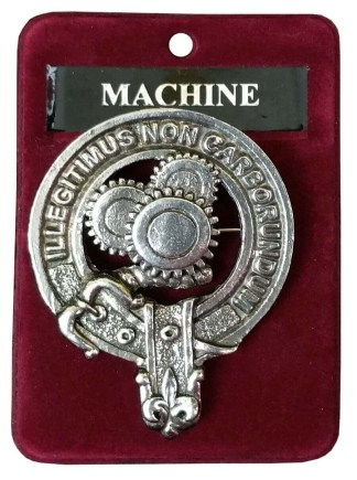 Machine Gears Steampunk Cap Badge/Brooch
