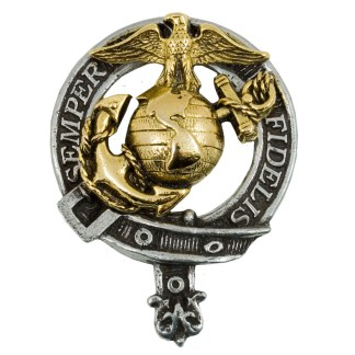 U.S. Marine Corps Gold Plated Badge/Brooch