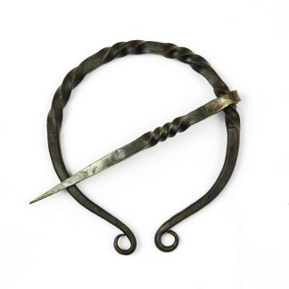 Classic Wrought Iron Penannular Brooch
